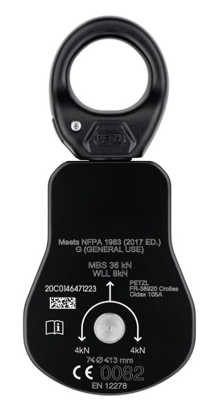 Petzl Spin L1 Swivel Pulley black