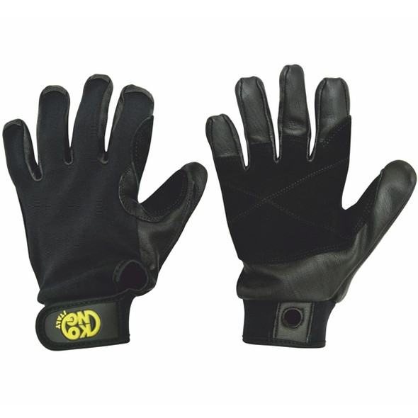 Kong Pro Air Gloves Leather/Nylon Black XL