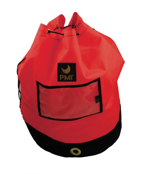 PMI® Rope Pack standard with double layer black bottom,  Red