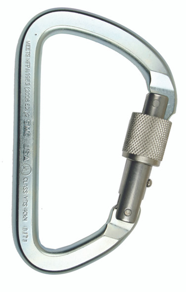 SMC Lite Alloy Steel Locking Carabiner