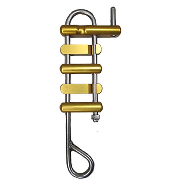 CMI SRack4B Rappel Rack Standard Eye Gold