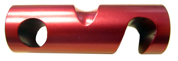 "SMC 7/8"" Aluminum Brake Bar with Groove"
