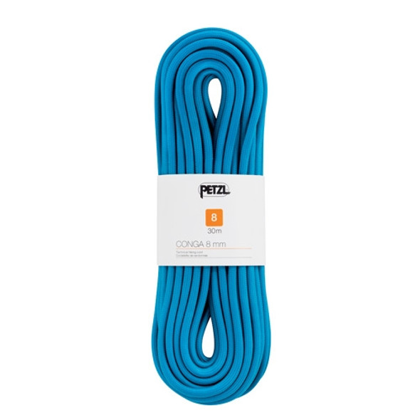 Petzl Conga semi-static cord 8mm x 30m, Blue