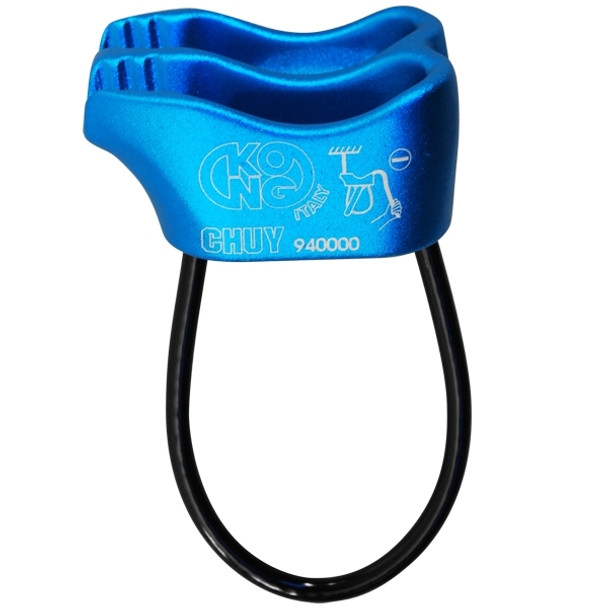 Kong Chuy Belay Device Blue