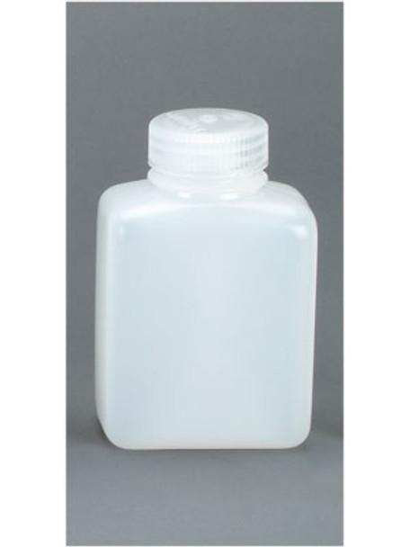 Nalgene Poly Wide Mouth Rectangular 4 ounce BPA Free