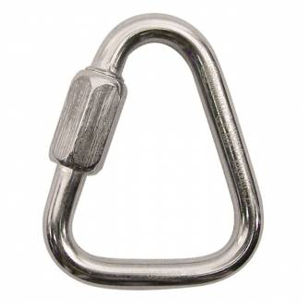 Kong Triangle Quick Link 8 mm Stainless Steel