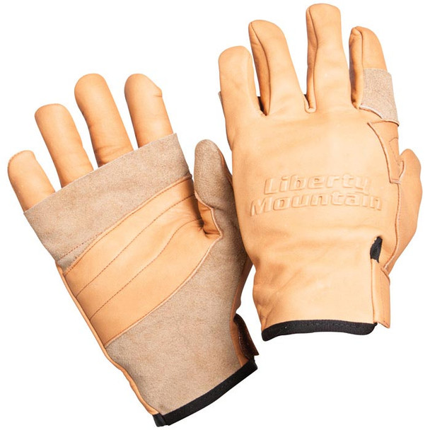 Liberty Mountain Rappel Glove Cowhide - Lg