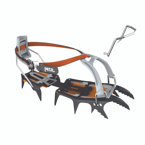 Petzl T10A LLU Sarken 12-point technical w/LeverLock Universal