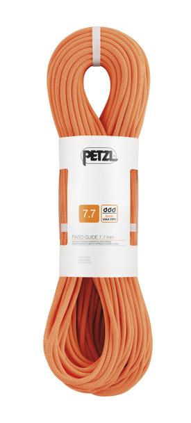 Petzl R22B Paso Guide 7.7mm Half Rope w/UIAA Guide Dry Treatment