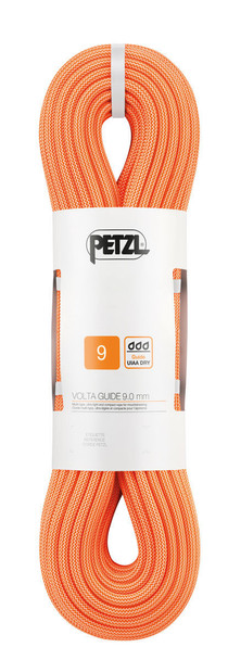 Petzl R36AO Volta Guide Ultra-Light Rope w/UIAA Guide Dry Treatment.