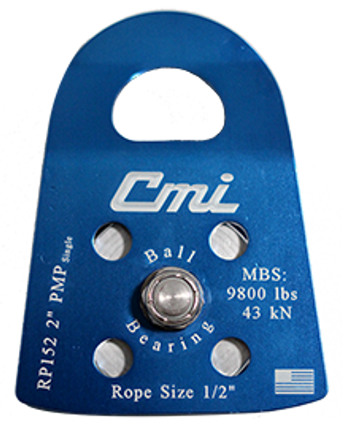 """CMI RP152 2"""" Single PMP Pulley (New S2016)"""