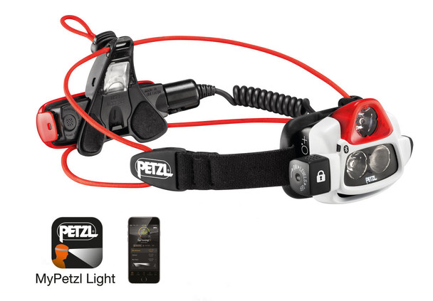 Petzl E36AHR 2B NAO + Reactive Lighting Bluetooth 750 Lumens