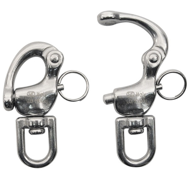 Kong Quick Release 521 Swivel Eye Stainless Steel Size 3
