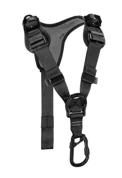 Petzl C081AA01 Top Chest Harness Black