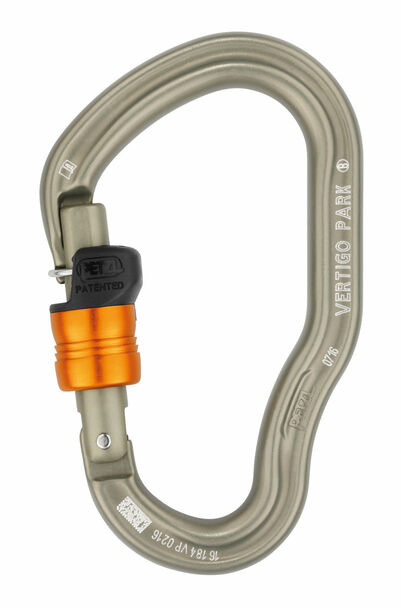 Petzl Vertigo Wire-Lock Park Carabiner