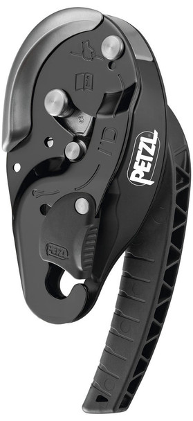 Petzl I'D S Descender black (New 2019)