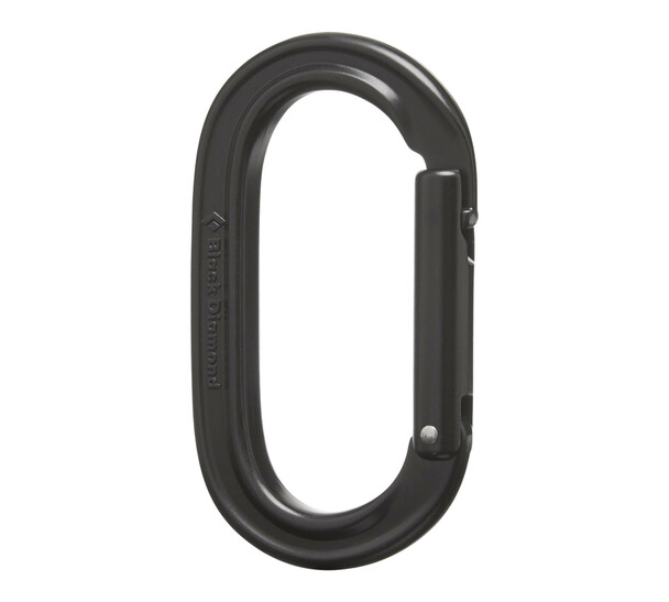 Black Diamond Oval Keylock - black