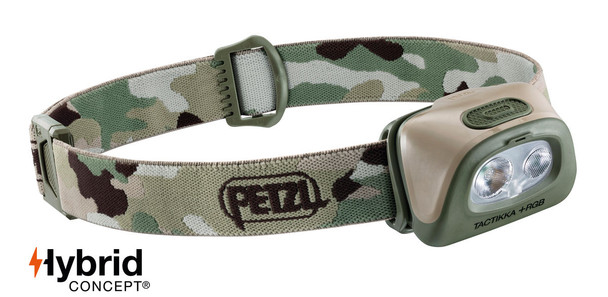 Petzl E089FA Tactikka+RGB Headlamp