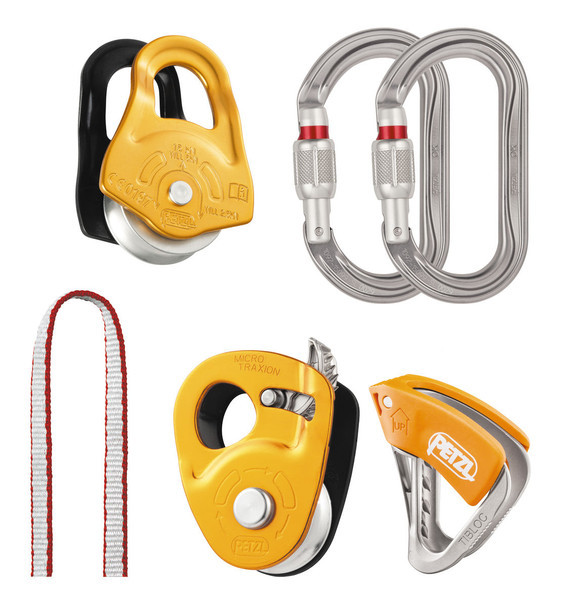 Petzl K025AA00 Crevasse Rescue Kit
