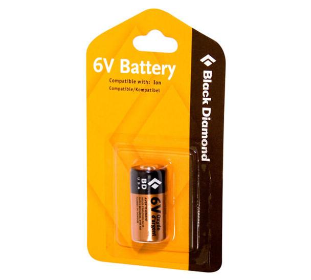 Black Diamond 6-Volt Battery