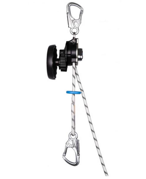 Edelrid Safe Descent 10, 5mm, 30m, Snow