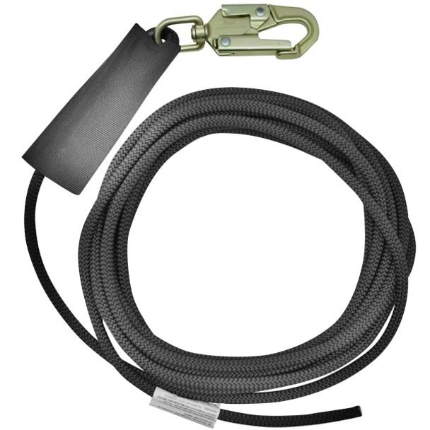 Kong Back-Up Lifeline 50' - 11mm w/Swivel Snap