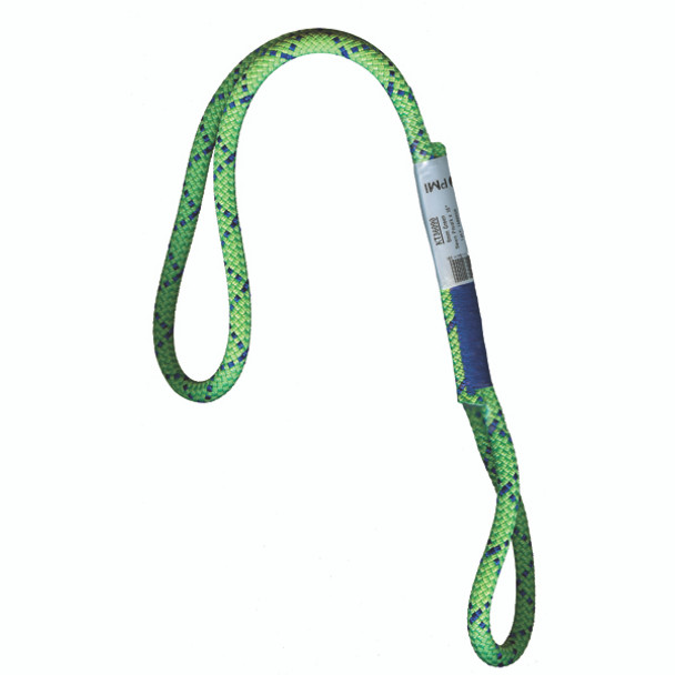 """PMI® Sewn Prusik Loop 8mm x 22"""" Green"""