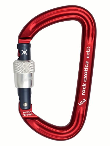 Rock Exotica C2_S RockD Screw Lock Carabiner