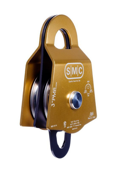 """SMC 3"""" NFPA Double Prusik Minding Pulley"""
