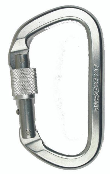 SMC Aluminum Locking 'D' bright