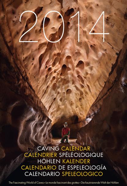 Speleo Projects 2014 caving calendar