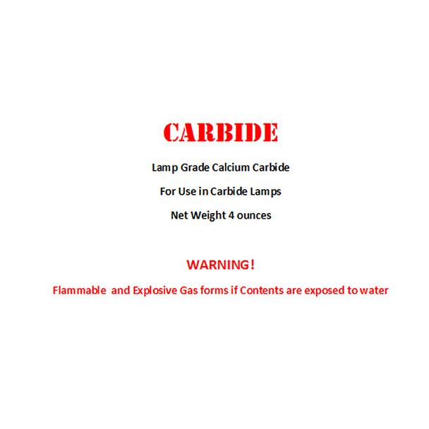 Calcium Carbide 4oz bottle