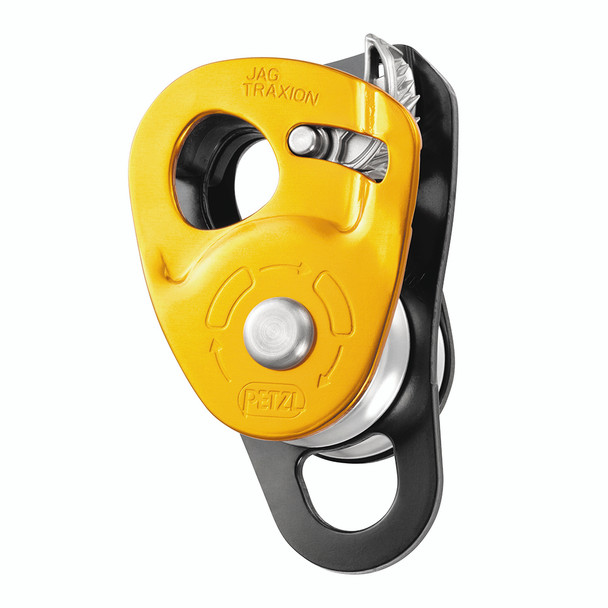 Petzl P54 Jag Traxion Lightweight Double Progress Pulley  NFPA