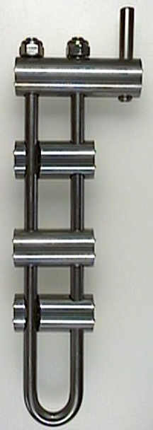 BMS Micro Rappel Rack Long Frame