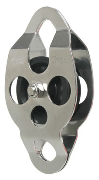 CMI RC105 Stainless Steel Ropes Course Double End Pulley (Bushing)