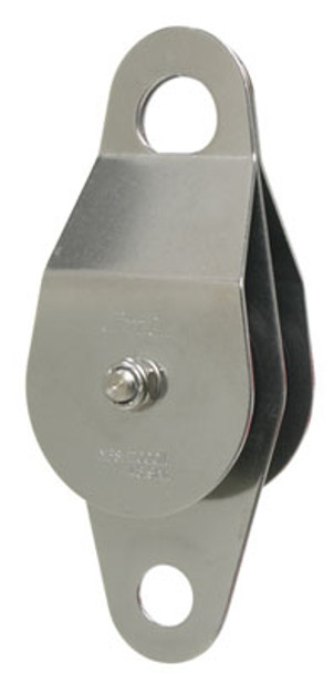 "CMI RP119 2"" Stainless Steel Double Service Line Pulley with Becket (Needle Bearing)"
