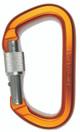 SMC Aluminum Locking 'D' carabiner - colors