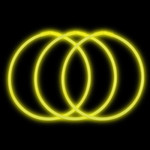 "22"" Premium Glow Necklaces Yellow (50 per Pack)"