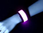 Pink Slap Band Bracelet