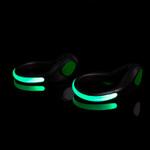 Green LED Heel Lights