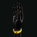LED Bracelet Yellow Music Sensor