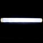 LED Hologram paper lined  wand - Silver