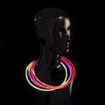 "22"" Assorted Premium Glow Necklaces 50pk"