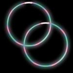 """22"""" Necklaces RGB w/2"""" Connector 50pk"""