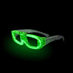 Green Sound Activated LED Party Glasses