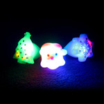 Assorted LED Christmas Jelly Ring (24 Pack)