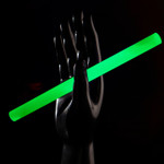 "10"" Concert Glowsticks 25pk Green"