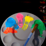 Glominex Glow Body Paint 1 oz jar Green