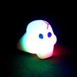 Assorted LED Skull Jelly Ring (24 Pack)