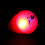 Assorted LED Spider Jelly Ring (24 Pack)